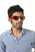 Young man with sunglasses — Foto de Stock