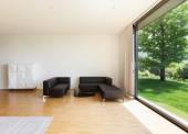 House, wide living room — Stock fotografie