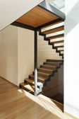 House, staircase view — Stock Photo