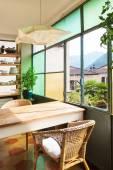 Kuchnia komfortowe wnętrze — Zdjęcie stockowe