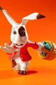 Easter rabbit run — Stock Photo