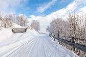 Winter in switzerland — Foto de Stock