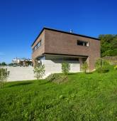 House of modern design exterior — Stock Photo