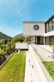 Beautiful modern house in cement — Stockfoto