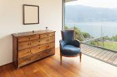 Interior home,  furnished corner — Stock Photo