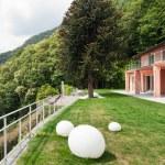 Nice villa, outdoors — Stock Photo #63380675