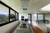 Современный дом, интерьер — Стоковое фото