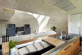 现代的房子室内 — 图库照片
