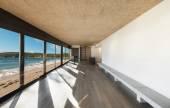 Nádherný dům u moře, vnitřní — Stock fotografie