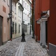 Old town stoned path — Stock Photo #67263863