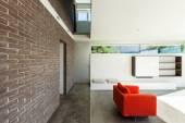 İç modern house, oturma odası — Stok fotoğraf