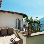 Beautiful terrace view — Stock Photo #68351171