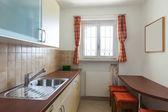 Interior, domestic kitchen — ストック写真