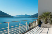 Beautiful terrace of a penthouse — Stock Photo