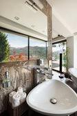 インテリアは、快適なバスルーム — ストック写真