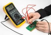 Testing Electronic — Stock Photo