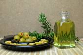 Olives vertes — Photo