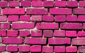 Brick wall with color — Stockfoto
