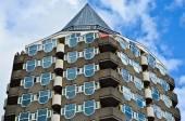 архитектура в роттердаме — Стоковое фото