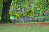 Beautiful City park a Rotterdam, Paesi Bassi — Foto Stock