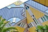 Cube houses in Rotterdam, Holland. — Stock Photo
