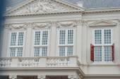 Palácio real em cidade de den haag, países baixos — Foto Stock