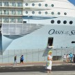 Luxury Cruise Ship Oasis of the Seas, Royal Caribbean, Close up — Stock Photo #60845595