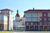 """Hotel complex """"Bogatyr"""" in Sochi, Russia — Stock Photo"""