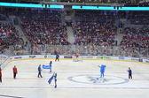 Ice hockey game in Sochi, Russia 2015 — Stock Photo