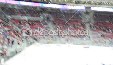 Ice hockey in Sochi, Russia 2015 — Stock Video