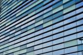 Glass Windows of a modern business building exterior — Stock Photo