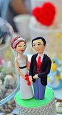婚礼蛋糕装饰 — 图库照片