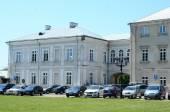 Zamojski Academy  in Zamosc city — Stockfoto