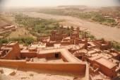 Ksar of Ait Ben Haddou, Morocco, set of many movies — Photo