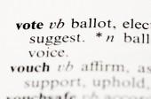 Hlasování — Stock fotografie