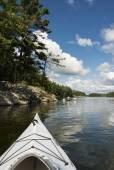 Kayaking on a Summer Day — Stock Photo