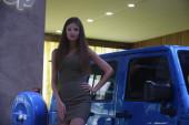 From Moscow International auto salon — Foto Stock