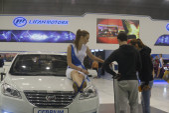 From Moscow International auto salon — Stock fotografie