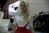 From Moscow International auto salon — Stock Photo