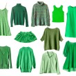 Green clothes — Stock Photo #52739189