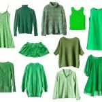 Green clothes — Stock Photo #52739189