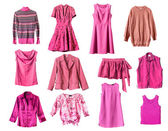 Pink clothes — Stock Photo