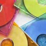 Compact discs — Stock Photo #61124849