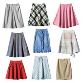 Skirts — Stock Photo