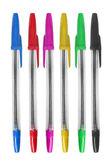 Conjunto de canetas — Fotografia Stock