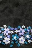 Felt flowers — Stock Photo