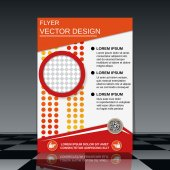 Plantilla Flyer — Vector de stock
