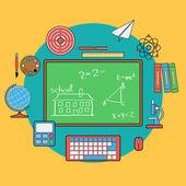 Concetto di educazione — Vettoriale Stock