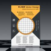 Brochure cover template — Stock Vector