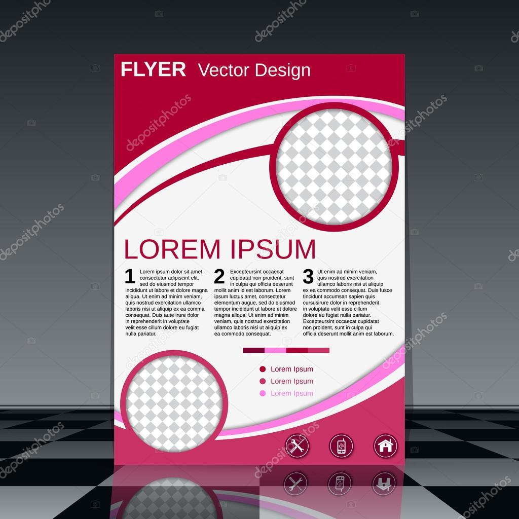 professional flyer vector design stock vector copy ulvur  professional flyer vector design brochure mockup business report magazine cover placard corporate banner presentation poster template vector by